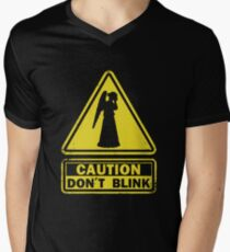 Don't Blink Men's V-Neck T-Shirt