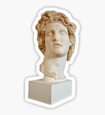 Vaporwave bust Sticker