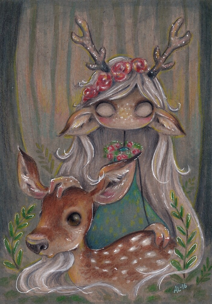 Queen of the forest by Annika Landberg