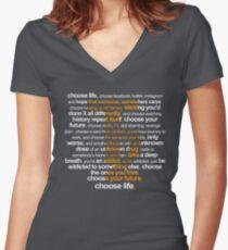 Trainspotting 2 Women's Fitted V-Neck T-Shirt