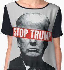 Stop Trump Women's Chiffon Top