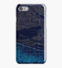 USGS TOPO Map California CA Honker Bay 296168 1918 31680 geo Inverted iPhone Case/Skin
