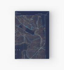 USGS TOPO Map California CA Honker Bay 296168 1918 31680 geo Inverted Hardcover Journal