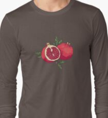 Juicy pomegranate fruits Long Sleeve T-Shirt