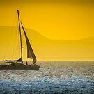 Sailing into the Sunset by vivsworld