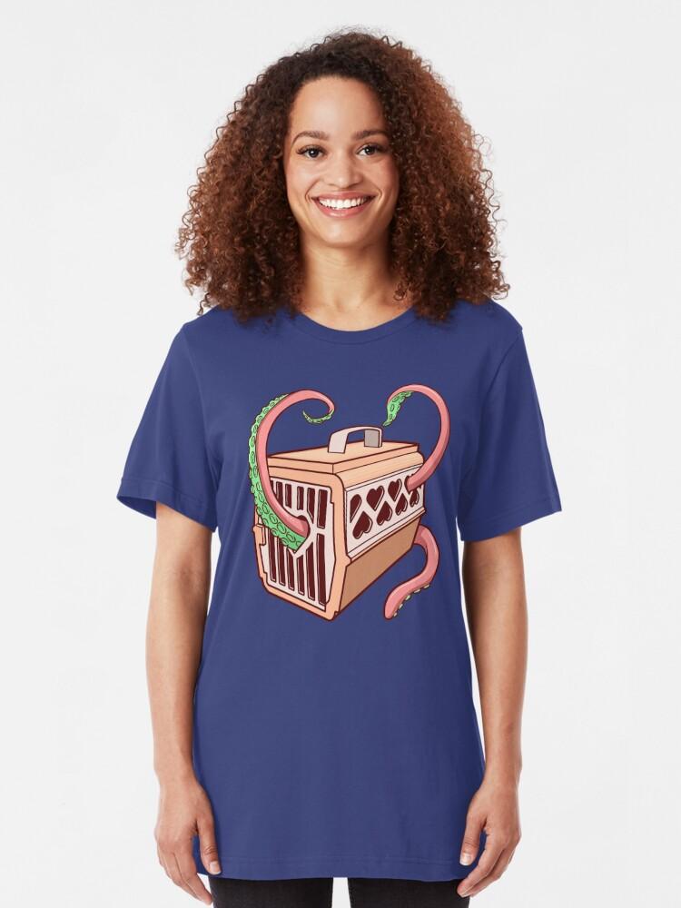 Alternate view of Tentacles Slim Fit T-Shirt