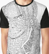 Full Metal Alchemist Brotherhood Edward Elric Micrography Graphic T-Shirt
