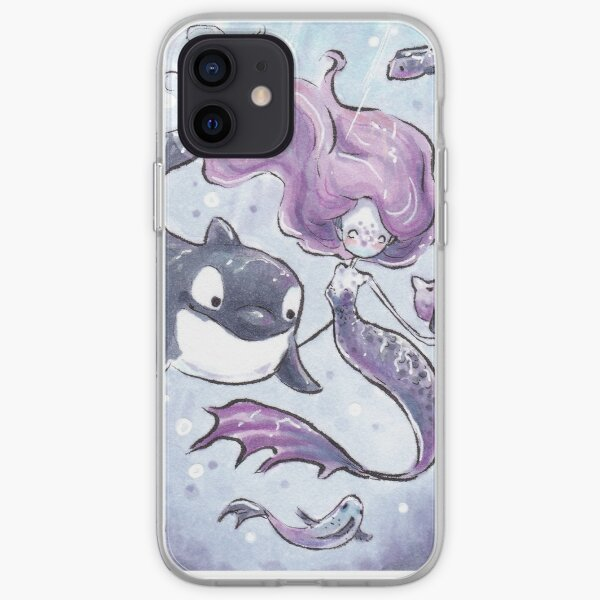 Orca playtime iPhone Soft Case