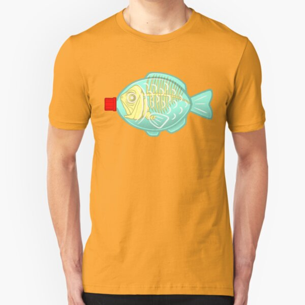 Dead Sushi Soy Fish Slim Fit T-Shirt