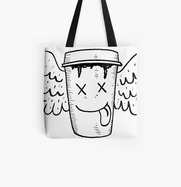 Coffee Angel All Over Print Tote Bag