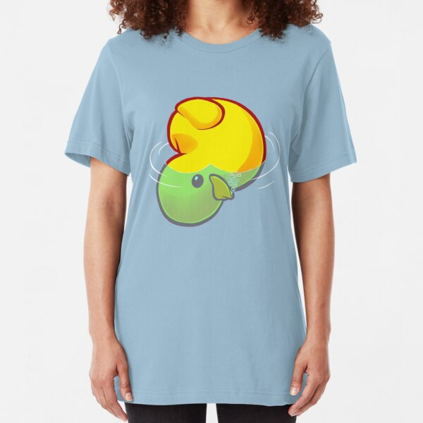 Drowning Rubber Ducky Slim Fit T-Shirt