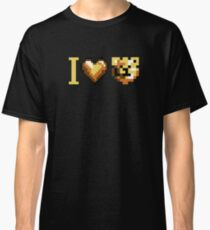 ROBUST INVADERS I LOVE BEARS Classic T-Shirt