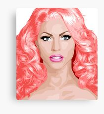 Courtney Act Drag Superstar Canvas Print