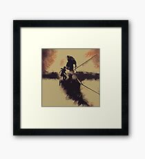 Lara Croft - Tomb Raider v8 Framed Print