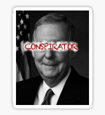 Mitch McConnell - Conspirator Sticker