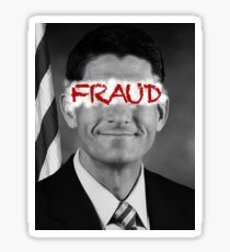 Paul Ryan - Fraud Sticker