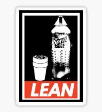 Lean Obey Sticker