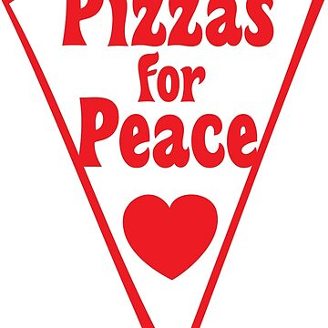Pizzas For Peace-100% Proceeds go to ACLU by thecraftydino