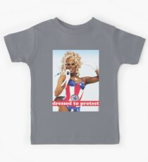 dressed to protest Kids Tee