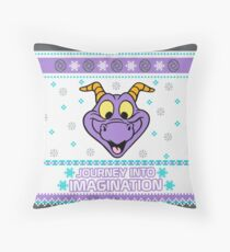 Figment Ugly Sweater Throw Pillow