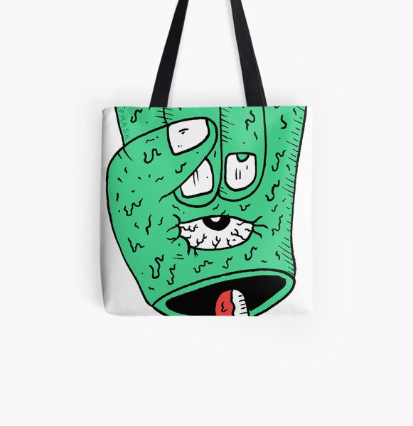 Hand 'n eyeball All Over Print Tote Bag