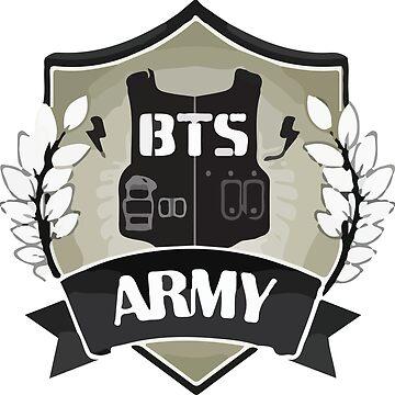 BTS ARMY LOGO by BreezeFrozen
