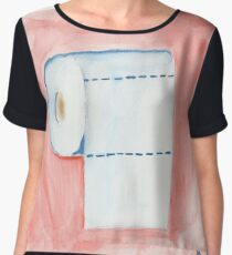 Front to Back Women's Chiffon Top