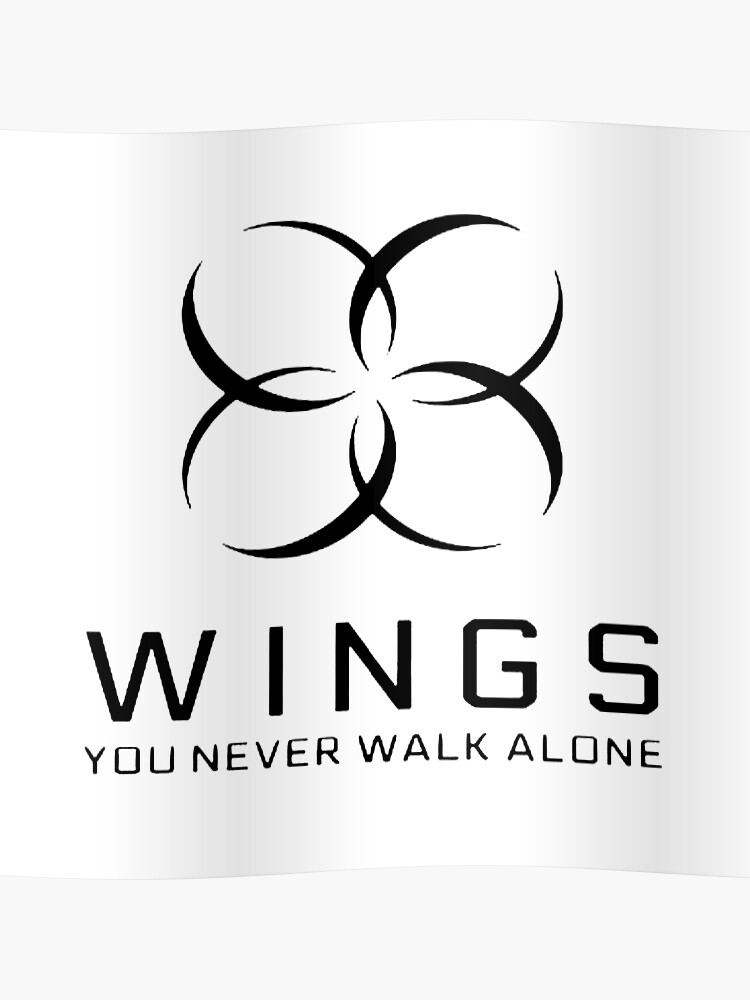 Bts Wings You Never Walk Alone Poster