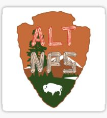 Alt NPS  Sticker