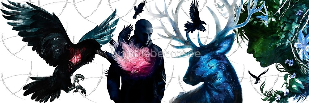 The Raven Cycle by bumblebeerosee