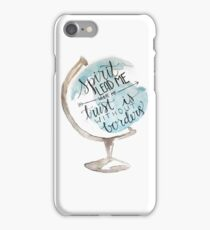 Christian quote, Hillsong, Globe iPhone Case/Skin