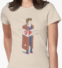 Doctor Who Anatomy Womens Fitted T-Shirt
