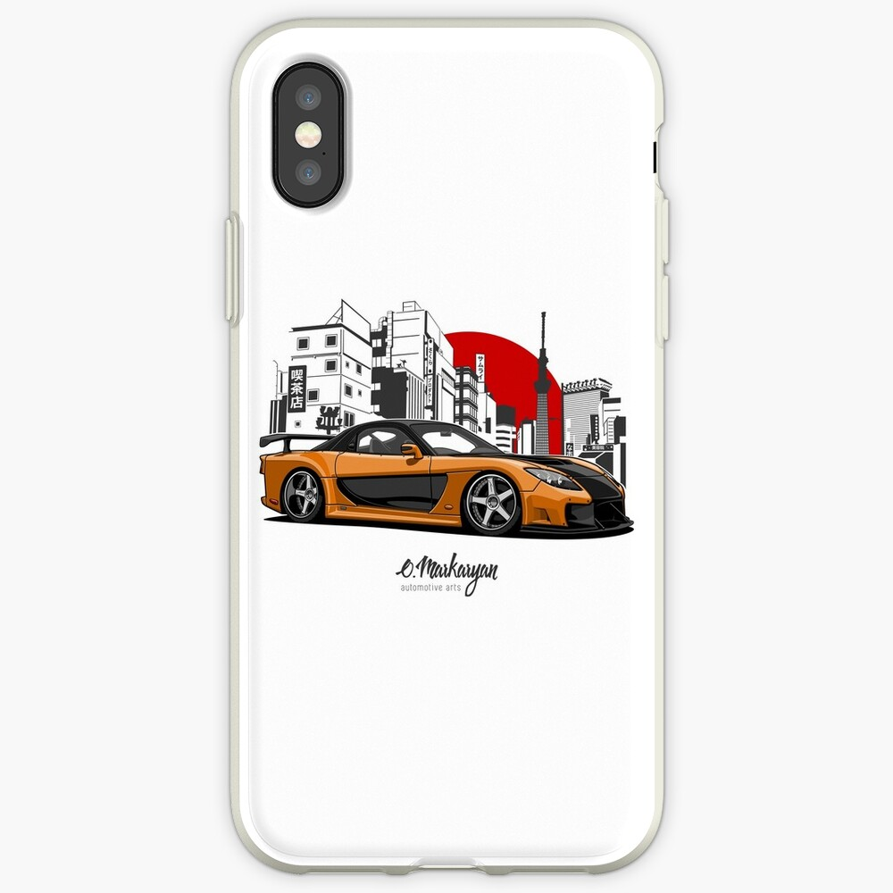 RX7 iPhone-Hüllen & Cover