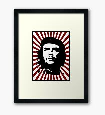 che RED Framed Print