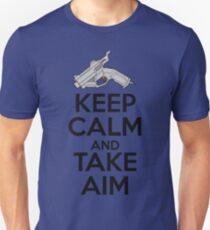 Dreamcast Keep Calm and Take Aim Unisex T-Shirt