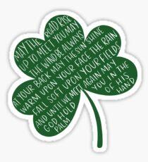 Pegatina Bendición irlandesa