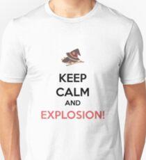 Camiseta ajustada Megumin - ¡Explosión!