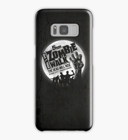 Zombie Walk - White Samsung Galaxy Case/Skin