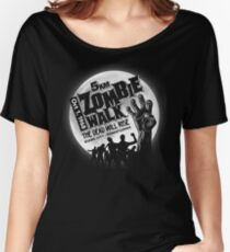Zombie Walk - White Women's Relaxed Fit T-Shirt