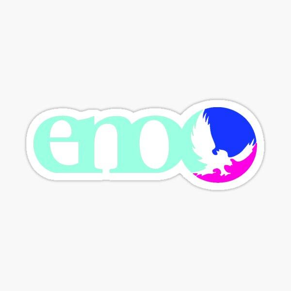 Blue, Pink, Sea Foam Eno Sticker