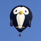 Penguin-Shaped Hot Air Balloon by Andrew Harker
