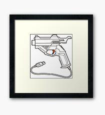 Dreamcast Light Gun Framed Print