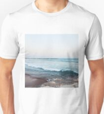 Calm morning ocean waves Unisex T-Shirt