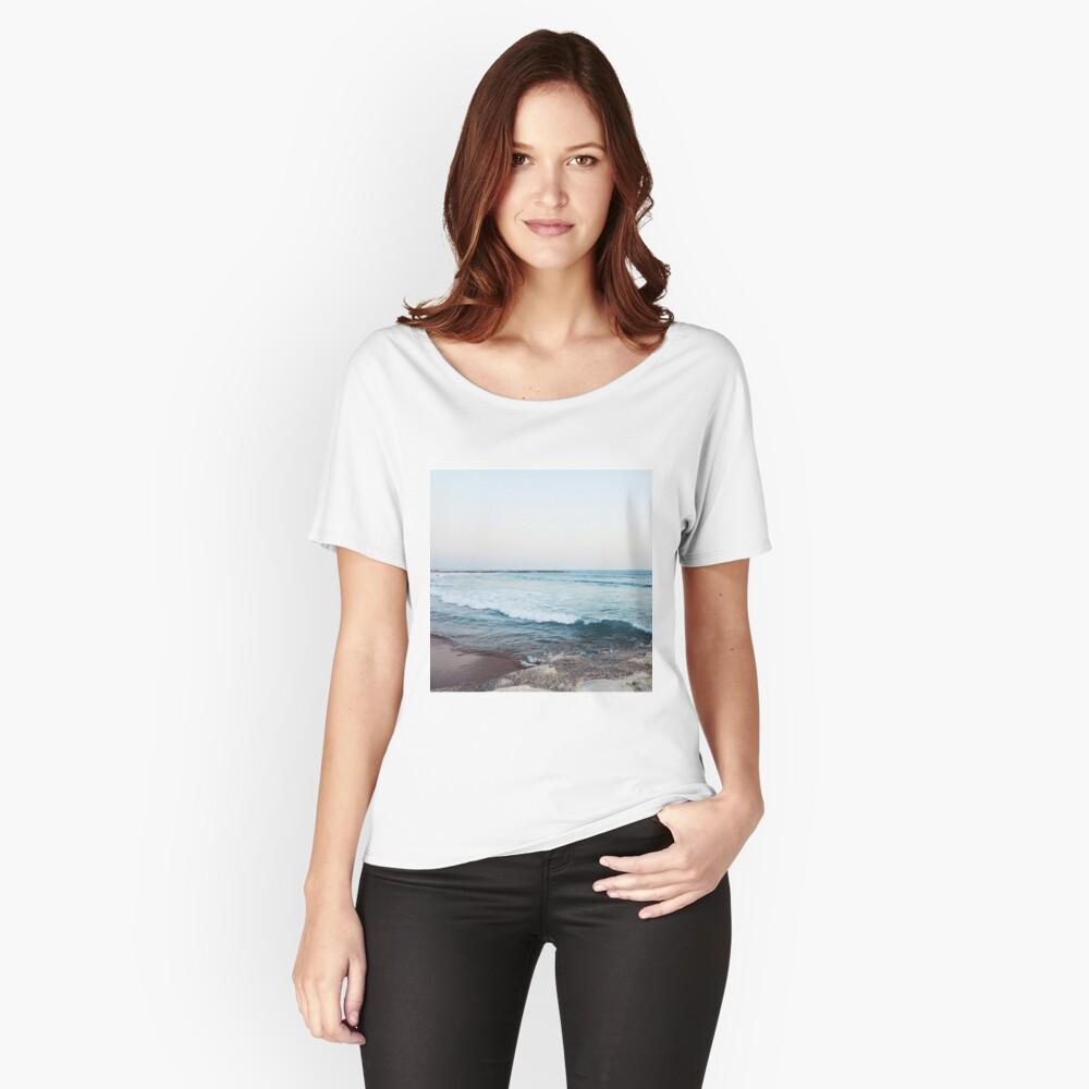Ruhige Meereswellen Loose Fit T-Shirt