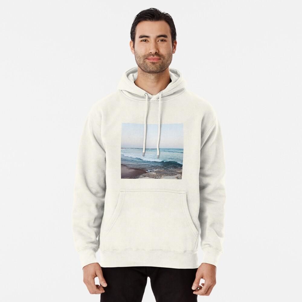 Calm ocean waves Pullover Hoodie