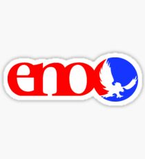 Red Blue Eno Sticker