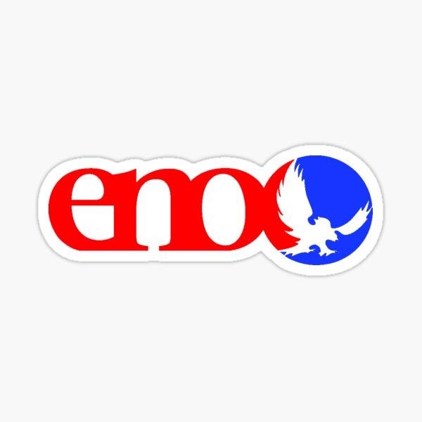 Red Blue Eno Sticker
