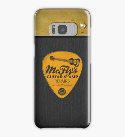 McFly's Repairs - Orange Samsung Galaxy Case/Skin