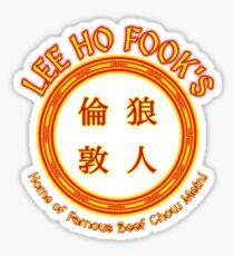 Lee Ho Fook's Sticker