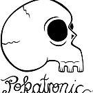 Pokatronic Skull by Vincent Poke